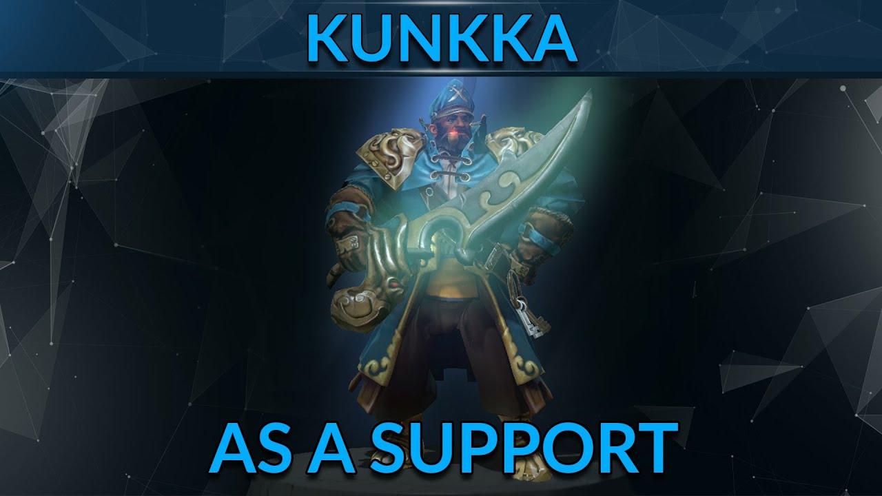 Intro To Support Kunkka Dota  Hero Guide Gameleap