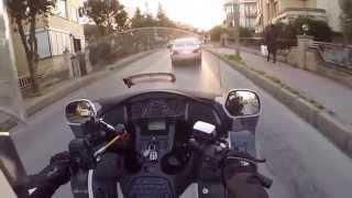 Honda Goldwing GL 1800 tour (Sunset)
