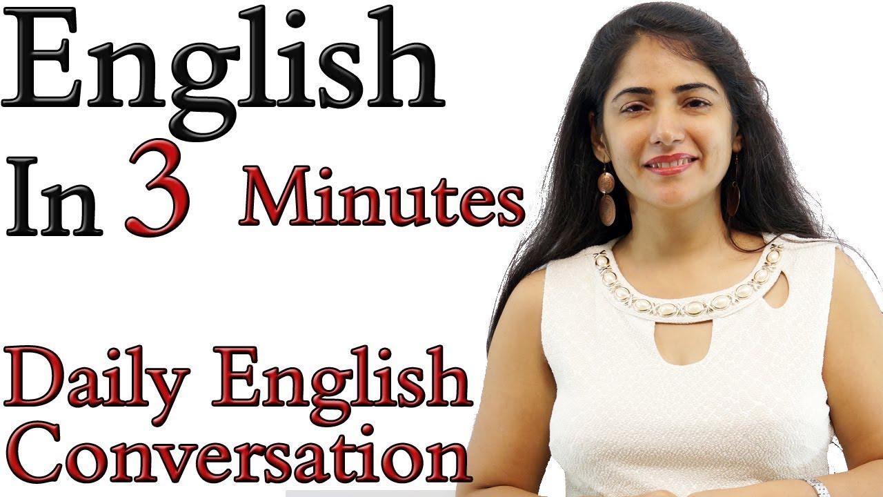 Spoken English Learning Video - English Speaking Practice