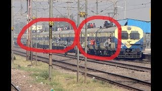 This Happens In India !! Crazy People on Roof Of Train !!