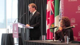 The Fulcrum: Allan Rock & Michaelle Jean press conference