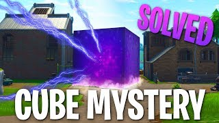 Fortnite Cube Solved! (Path, Runes, & Loot Lake Activation)
