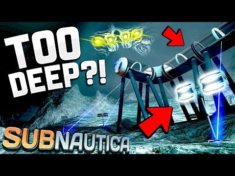 Subnautica - I CAN'T BELIEVE WE DID IT!! Deepest Place in Subnautica is OURS! - Subnautica Gameplay