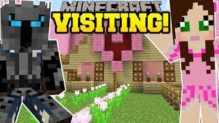 Minecraft: VISITING POPULARMMOS AND JEN