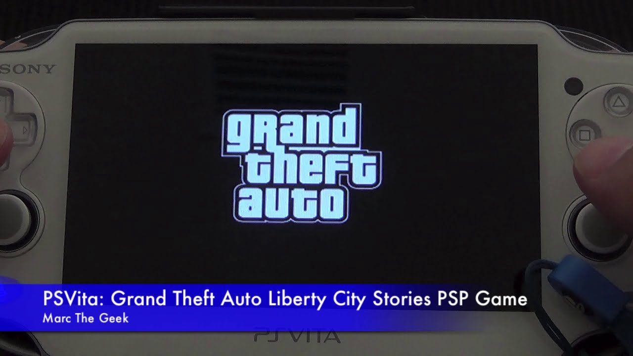 Psvita Grand Theft Auto Liberty City Stories Psp Game Youtube