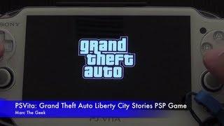 psvita grand theft auto liberty city stories psp game