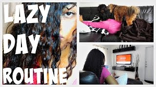My Sick/Lazy Day Routine! | Jamielle Laura Thumbnail