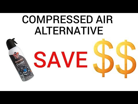Compressed Air Alternative: Electric Air Pump