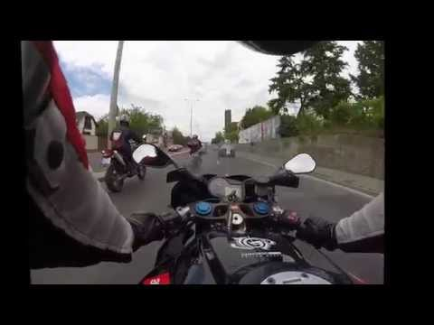 Motorcycle trip on Hungary