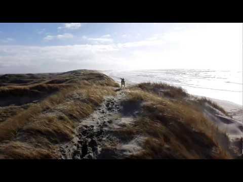 Hvide Sande, Denmark - sand dunes (panorama)