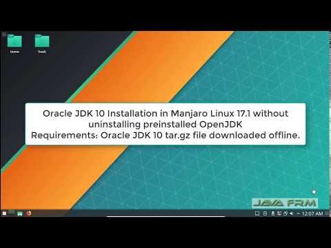 Oracle JDK 10 Installation on Manjaro Linux 17 1