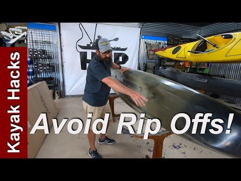 Used Kayak Buying Guide - Used Fishing Kayak Inspection