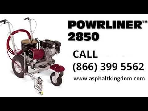 PowrLiner 2850 Line Striping Machine | Asphalt Kingdom