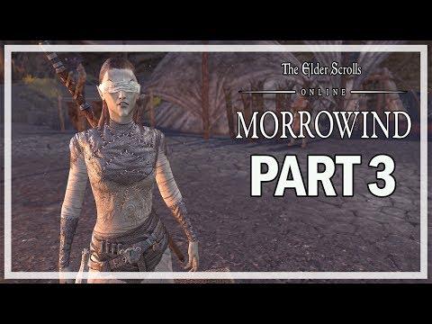 The Elder Scrolls Online Morrowind Let's Play Part 3 - Ancestral Ties