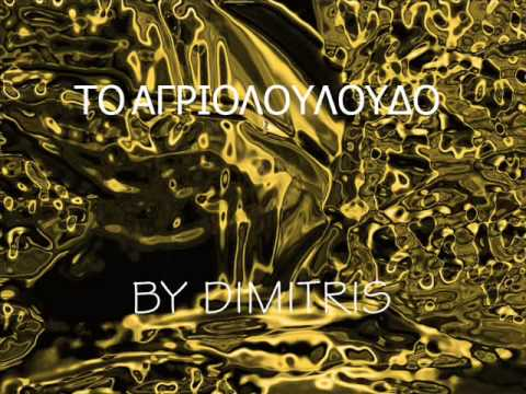 DIMITRIS - To agriolouloudo (karaoke by me)