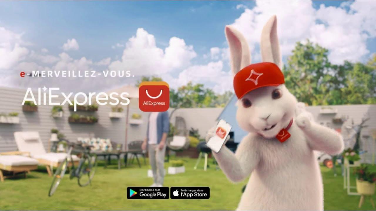 """Musique de la pub AliExpress – jardin """"e-merveillez-vous""""  2021"""