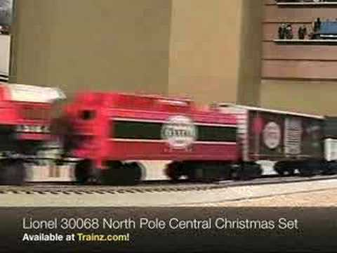 Lionel 30068 North Pole Central Christmas Train Set from TRAINZ.COM