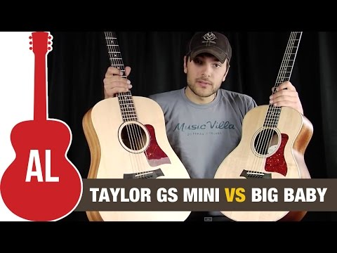 GS Mini vs Big Ba Taylor Guitar Comparison