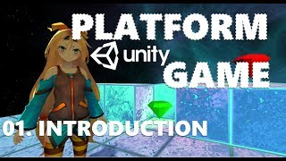 How To Make A Third Person Platform Game - Unity Tutorial #01 - BEGINNERS INTRODUCTION