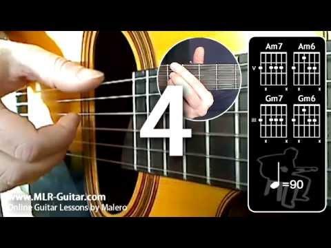 Beginners Guitar Lessons : Bossa Rhythm