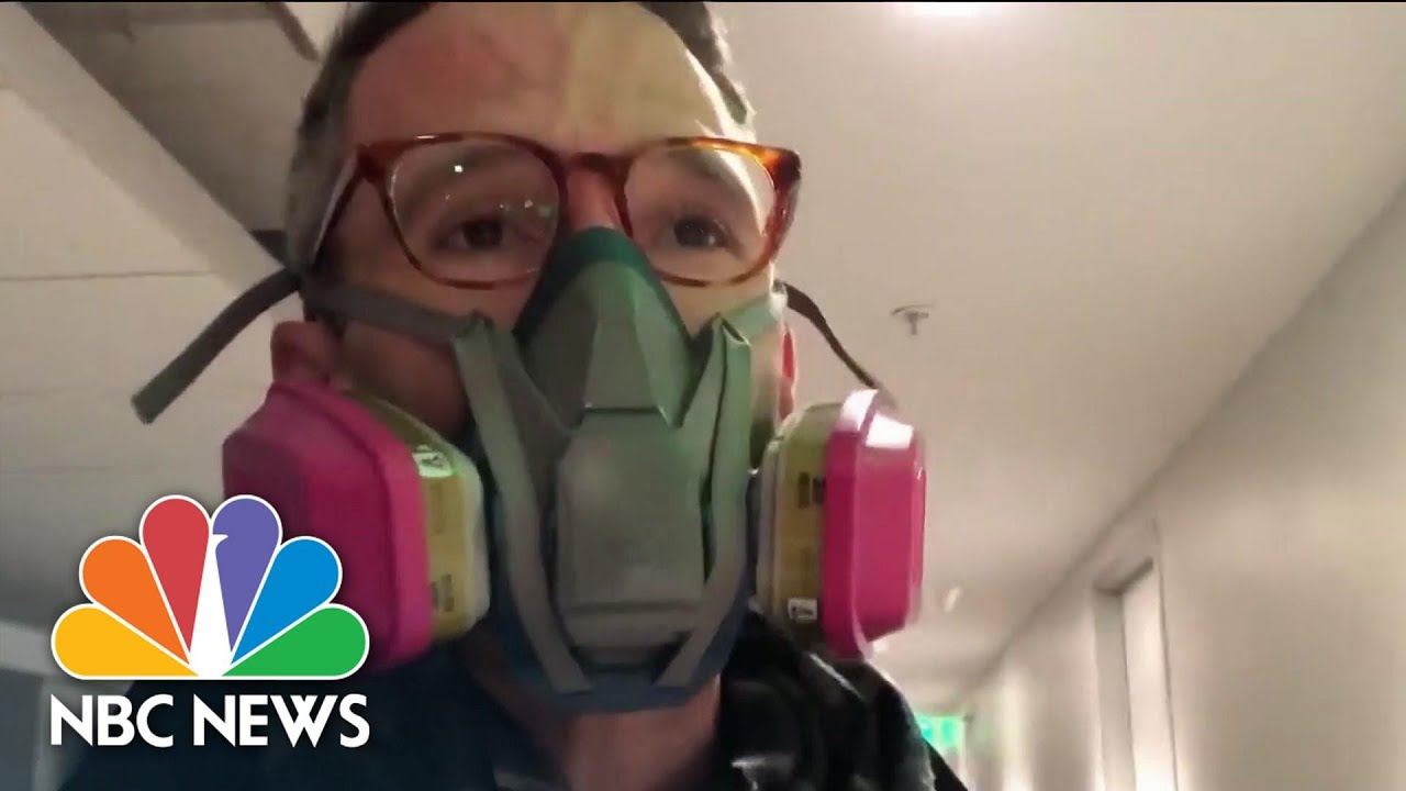 What It's Like To Shelter-In-Place For 24 Hours | NBC News NOW