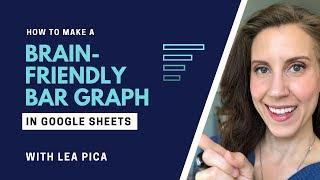 Hoe Maak je een Brein-Vriendelijke Bar Grafiek in Google spreadsheets {2019 Edition}