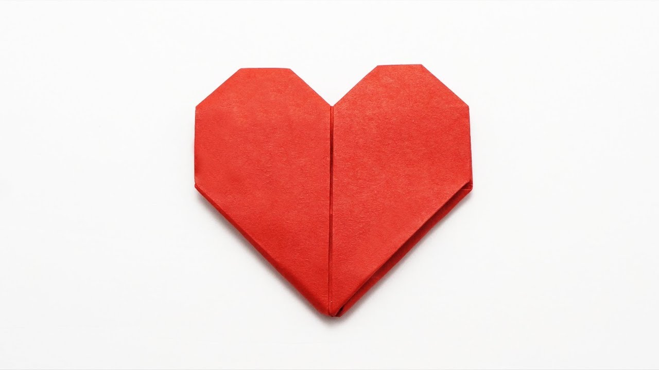 How to Make an Origami Heart | 720x1280