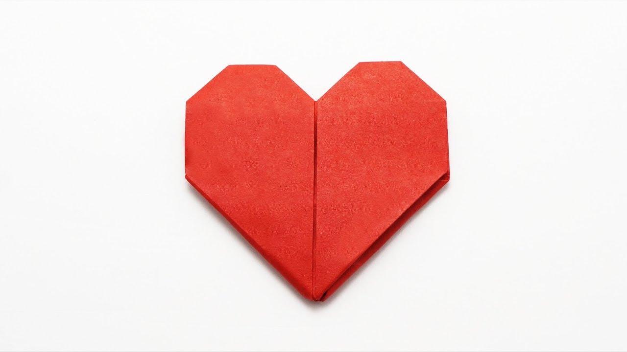 ORIGAMI HEART ❤️ (Jo Nakashima) - YouTube