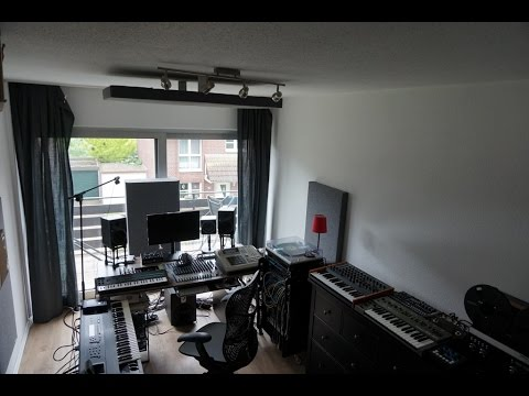 Home Recording Electronic Music Studio and OTB Workflow