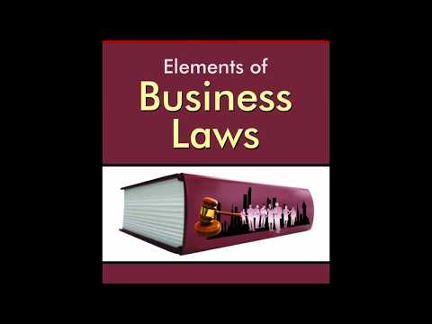 Business Law Chapter 4 - Capacity Of Parties