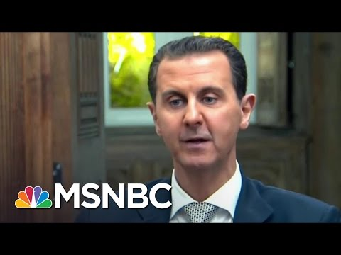 President Bashar al-Assad Gives First Interview Since Syria Airstrikes | MSNBC