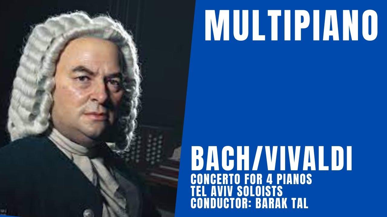 bach vivaldi concerto for 4 pianos multipiano ensemble youtube. Black Bedroom Furniture Sets. Home Design Ideas