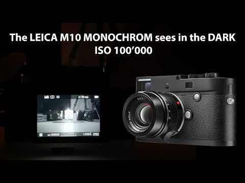 The LEICA M10 MONOCHROM Sees In The DARK | Full Review | Samples