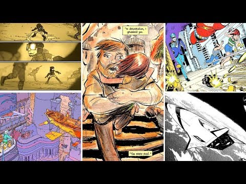 My Top 10 SCI-FI COMICS | PART 1 | The Honorable Mentions