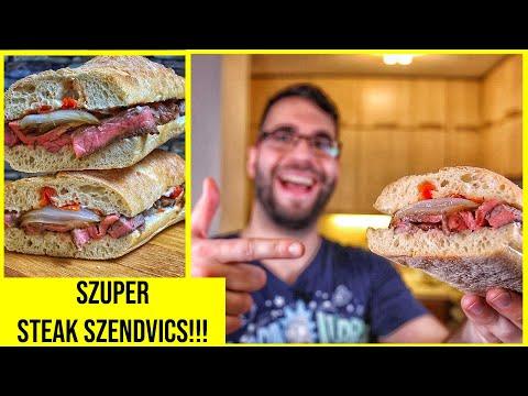 Jani szaftos steak szendvicse - ANGUS RIB EYE
