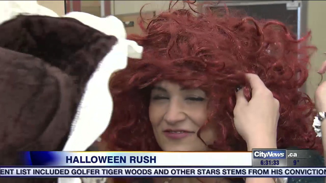 video: ideas for last-minute halloween costumes - youtube
