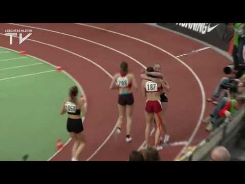Katrin Fehm sprintet zu einer neuen Hallen-Bestzeit (23,73 sec)