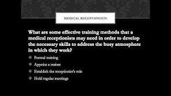 Medical Receptionist Training Video Tips