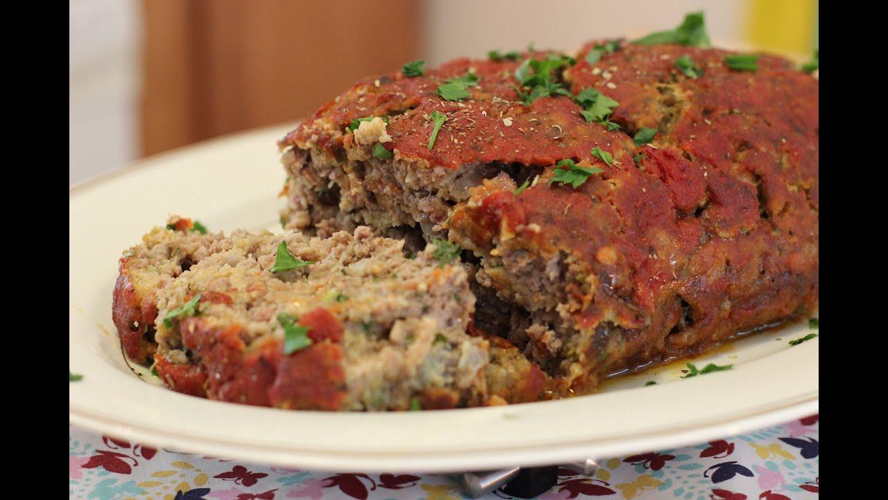 Meatloaf - O clássico bolo de carne americano - YouTube