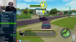 The Simpsons Hit & Run All Story Missions Speedrun in 1:32:44 [World Record]