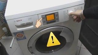 ремонт стиральной машины Bosch ошибка - error F23, F60/ Устраняем причину