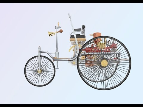 Benz Motorwagen Animation & Model • UC Berkeley E128 Project
