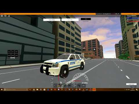 Roblox gameplay    NYC police sim #3    Noisy Boom boxes!