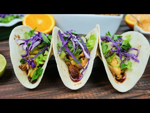 Slow Cooker Pulled Pork Street Tacos & Chipotle Lime Sauce | Episode 108