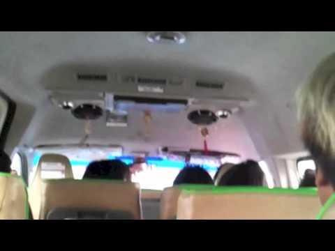 ผู้โดยสารทะเลาะกับคนขับรถตู้ ม กรุงเทพ - อนุสาวรีย์