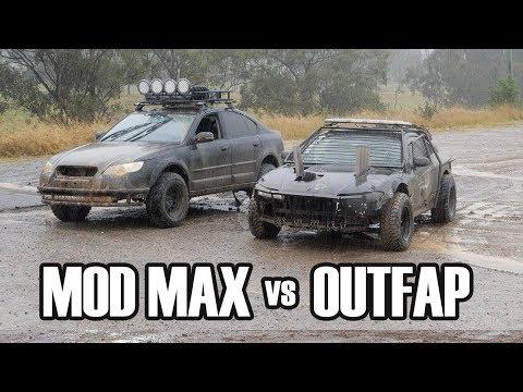 "Nissan Silvia ""Мод Макс"" против Subaru АутФап. Битва на бездорожье. [BMIRussian]"