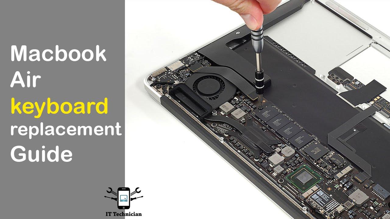 how to clean macobok air keyboard
