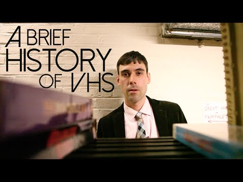 A brief history of VHS
