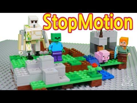 레고 마인크래프트 아이언 골렘 장난감 Lego 21123 Minecraft Iron Golem