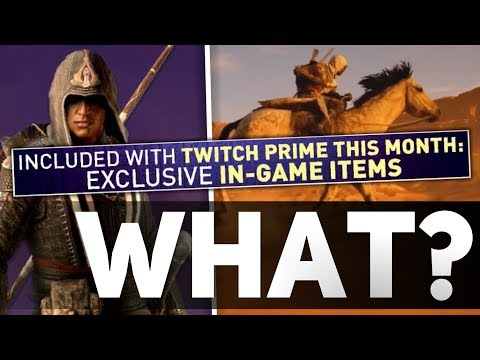 Assassin's Creed Origins - Aguilar Legacy Outfit Exclusive to Twitch Prime Users?